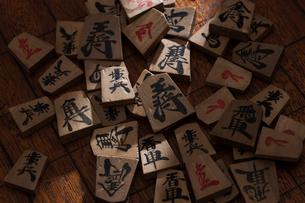 将棋の駒の写真素材 [FYI03827730]