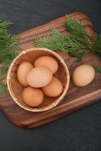 生卵の写真素材 [FYI03827905]
