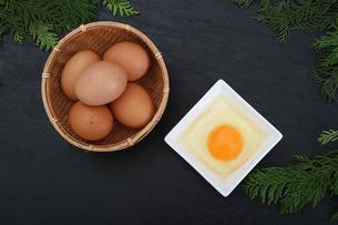 生卵の写真素材 [FYI03827915]