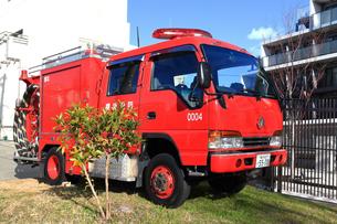 消防車の写真素材 [FYI03828626]