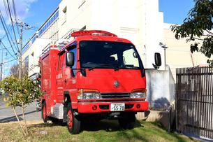 消防車の写真素材 [FYI03828629]