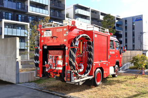 消防車の写真素材 [FYI03828632]