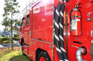 消防車の写真素材 [FYI03828633]