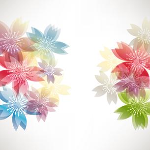 桜 背景のイラスト素材 [FYI03829071]
