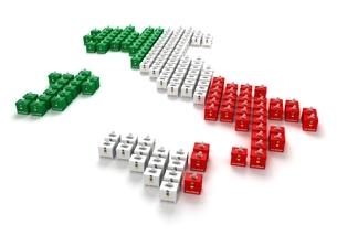 投票箱で出来たイタリアのイラスト素材 [FYI03829681]