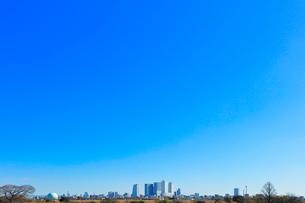 名古屋駅周辺の高層ビルと町並みの写真素材 [FYI03830040]