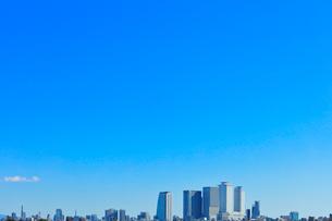 名古屋駅周辺の高層ビルと町並みの写真素材 [FYI03830041]