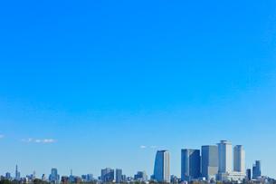 名古屋駅周辺の高層ビルと町並みの写真素材 [FYI03830042]