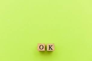 アルファベット テキスト 文字 英字 単語 スタンプ 緑の写真素材 [FYI03830258]