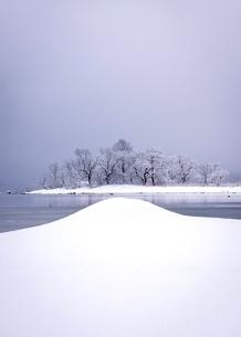 雪化粧の写真素材 [FYI03830285]