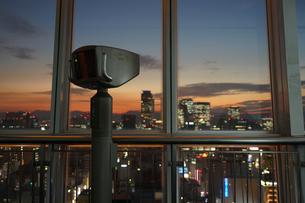 名古屋テレビ塔の展望台の写真素材 [FYI03830783]