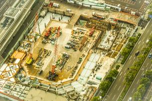 工事現場・建設現場のイメージの写真素材 [FYI03830832]