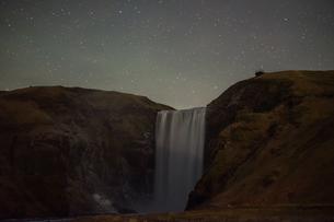 アイスランドのスコゥガフォスの滝の写真素材 [FYI03830897]