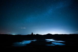 天の川の写真素材 [FYI03830997]