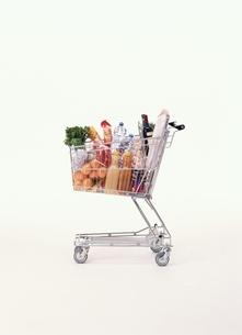 ショッピングカートの写真素材 [FYI03831771]