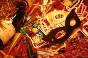 クリスマスパーティグッズの写真素材 [FYI03831905]