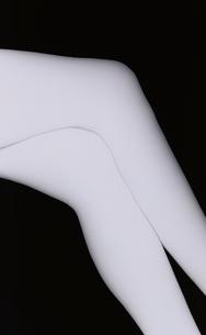 女性の脚(B&W)の写真素材 [FYI03832351]