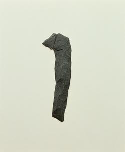 石で作った1の文字の写真素材 [FYI03833139]