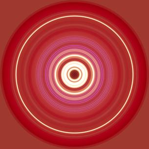 円形のアブストラクトのイラスト素材 [FYI03833147]