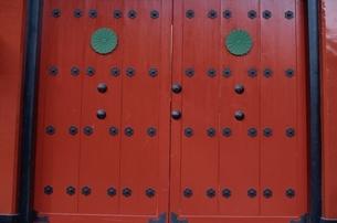 神社入口の写真素材 [FYI03833329]