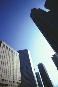 新宿の高層ビル群 東京都の写真素材 [FYI03833383]