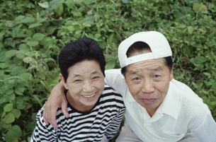 中高年夫婦の写真素材 [FYI03833402]