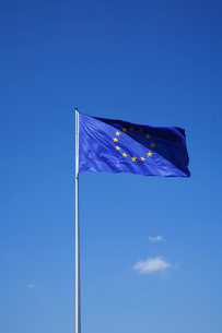 ユーロ国旗の写真素材 [FYI03833762]