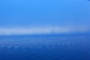 冬の山中湖の写真素材 [FYI03834341]