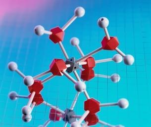 化学分子模型の写真素材 [FYI03834824]