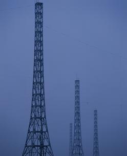 送電所のイメージの写真素材 [FYI03835166]