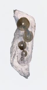 氷と歯車の写真素材 [FYI03836789]