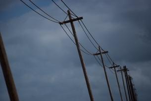 電柱 オアフ島 ハワイの写真素材 [FYI03836847]