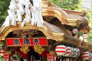 大阪天神祭地車講の写真素材 [FYI03837290]