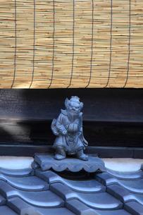 魔除けの鍾馗の写真素材 [FYI03837292]
