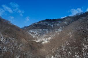 信越本線廃線の鉄橋の写真素材 [FYI03838160]