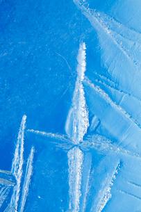 氷の模様の写真素材 [FYI03838440]