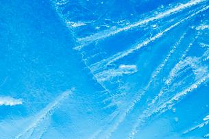 氷の模様の写真素材 [FYI03838443]
