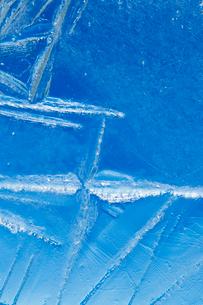 氷の模様の写真素材 [FYI03838446]