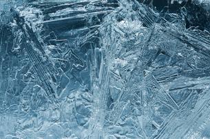 氷の模様の写真素材 [FYI03838456]
