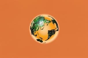 地球イメージ CGの写真素材 [FYI03838457]
