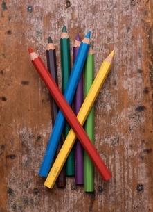 色鉛筆の写真素材 [FYI03838810]