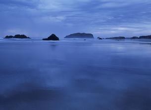 オレゴン州の砂浜 アメリカの写真素材 [FYI03838898]