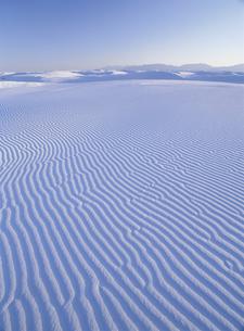 ホワイトサンズの砂丘 ニューメキシコ州 アメリカの写真素材 [FYI03838900]