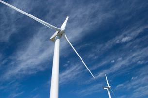 風力発電  瀬戸町 愛媛県の写真素材 [FYI03839400]