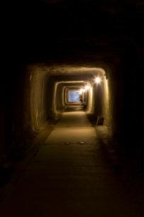 石見銀山の間歩の写真素材 [FYI03839532]