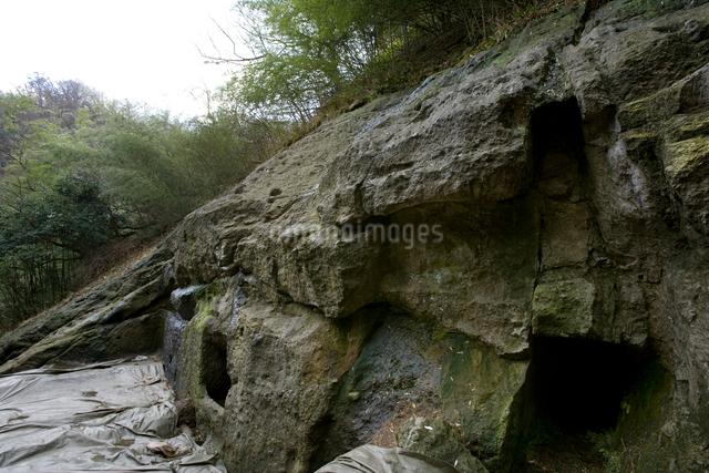 石見銀山の釜屋間歩の写真素材 [FYI03839542]