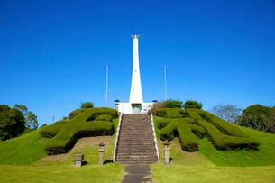 串良平和公園の慰霊碑の写真素材 [FYI03839872]