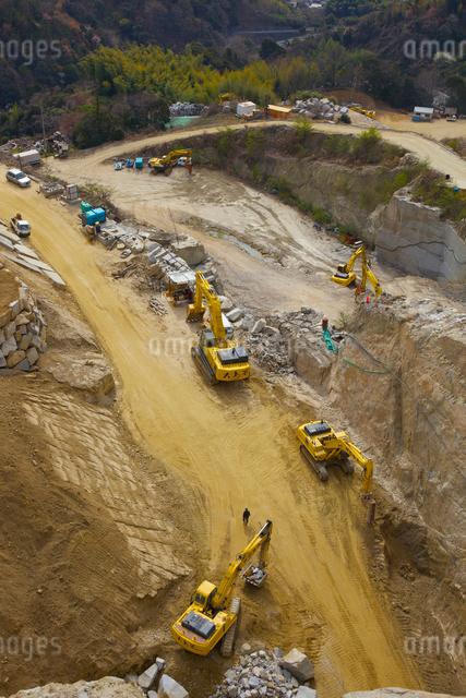 採石場の写真素材 [FYI03839880]