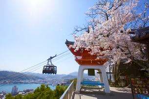 桜の千光寺公園の写真素材 [FYI03839905]