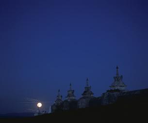 カラコルム夜景 モンゴルの写真素材 [FYI03840047]